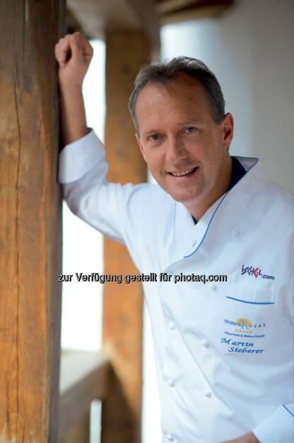 Martin Sieberer, der seit vielen Jahren zur nationalen Koch-Elite zählt, schaffte wie der erst 26-jährige Benjamin Parth erstmals den Sprung unter die 16 besten Restaurants der Republik: Tourismusverband Paznaun - Ischgl: Kulinarik-Hochburg im Paznaun, © Aussender (14.10.2014)