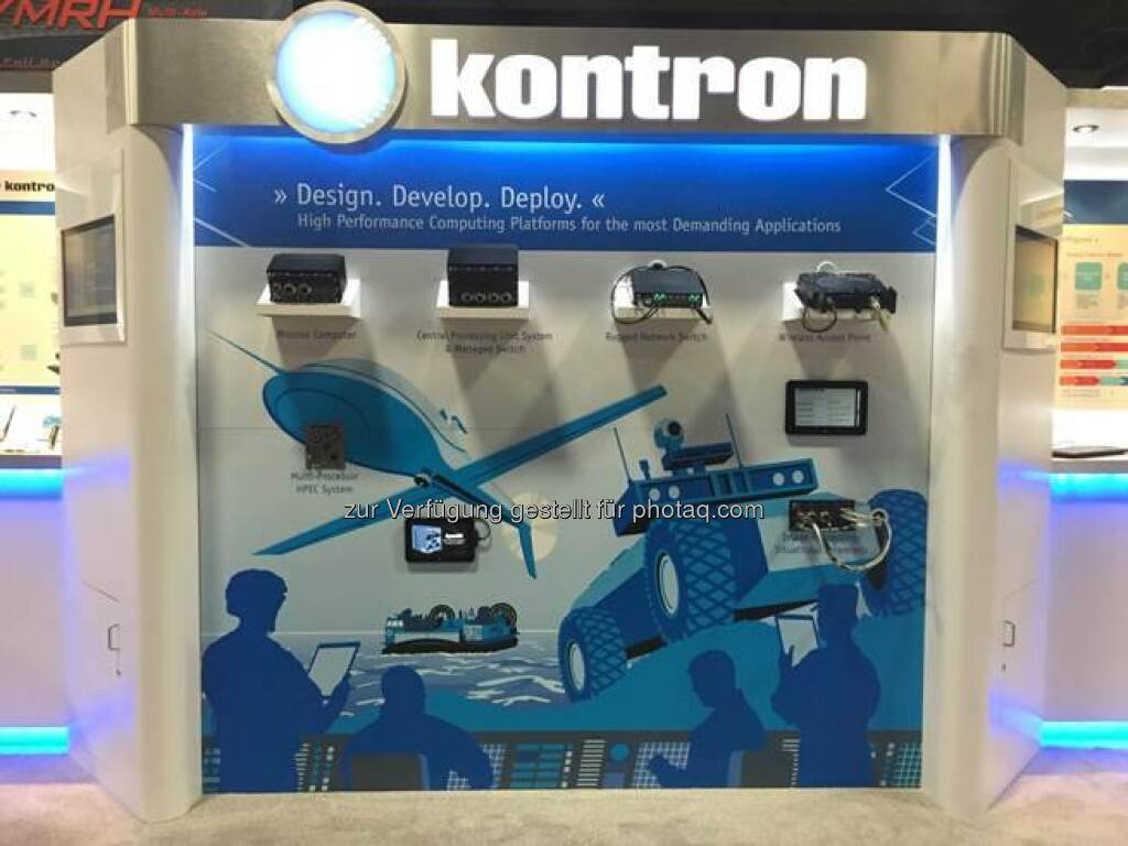 Kontron: Welcome to our Booth #3543 at #AUSA! We are looking forward to meeting with you!  Source: http://facebook.com/kontron, © Aussendung (14.10.2014)