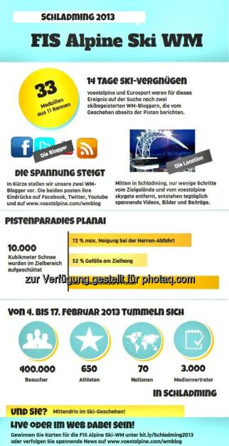 Die voestalpine-Grafik zur Ski WM in Schladming (c) voestalpine (29.01.2013)