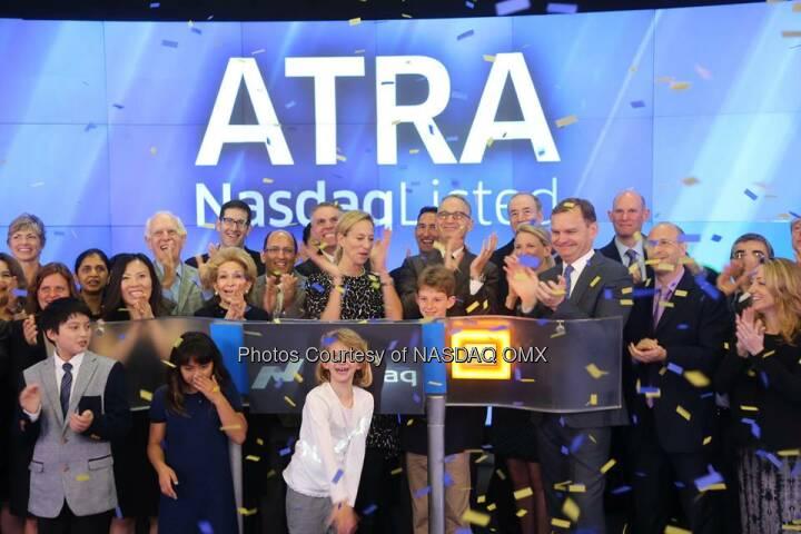 Atara Biotherapeutics is now trading on @NASDAQ. Welcome to the #NASDAQ Family $ATRA!  Source: http://facebook.com/NASDAQ
