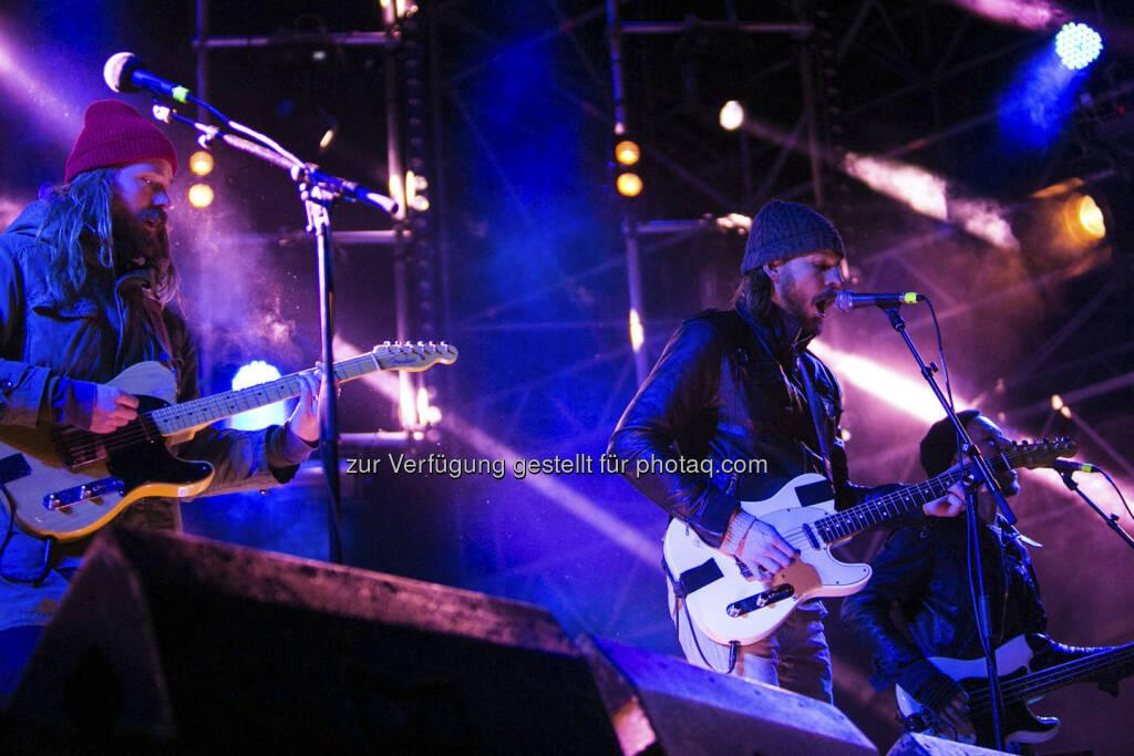 Friska Viljor (c) Patrick Wally - am Geburtstagsfest von FM4 - am 26. Jänner in der Arena Wien (29.01.2013)