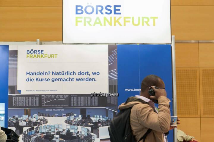 Börse Frankfurt, telefonische Order, Order