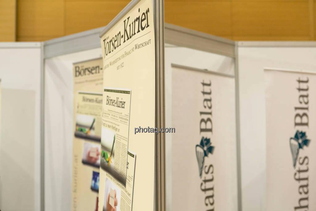Börsen-Kurier, WirtschaftsBlatt, © photaq/Martina Draper (16.10.2014)