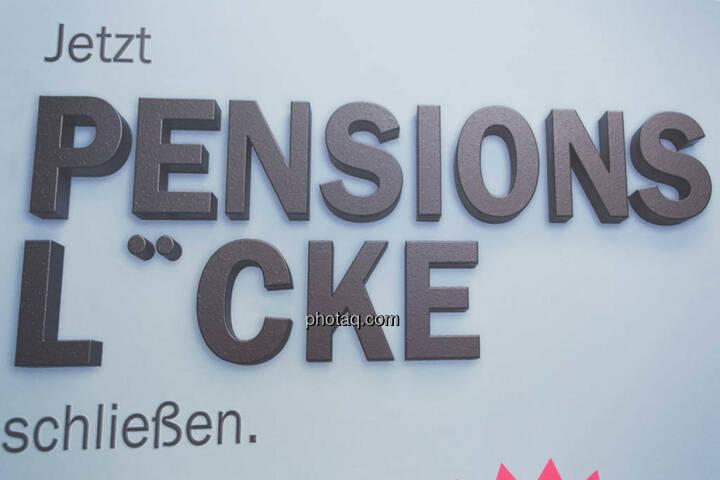 Pensionslücke