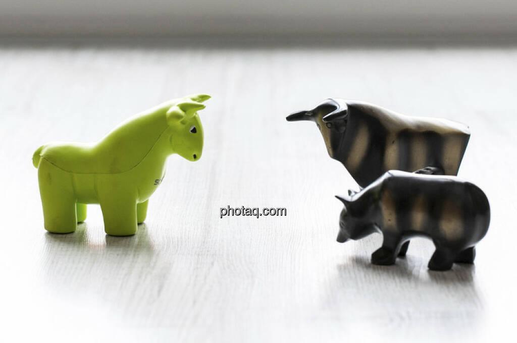 Scoachy vs. Bulle und Bär - mehr davon unter http://finanzmarktfoto.at/page/index/189 (c) Martina Draper (30.01.2013)