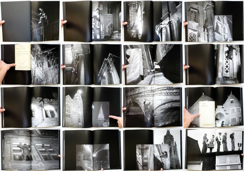 Thomas Mailaender - The Night Climbers of Cambridge, Archive of Modern Conflict 2014, Beispielseiten, sample spreads - http://josefchladek.com/book/thomas_mailaender_-_the_night_climbers_of_cambridge_noel_edward_symington, © (c) josefchladek.com (18.10.2014)