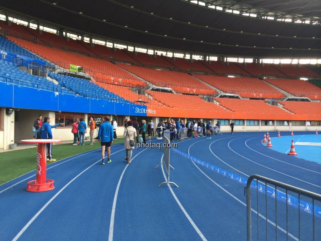 Ernst Happel Stadion, Track and Field (19.10.2014)