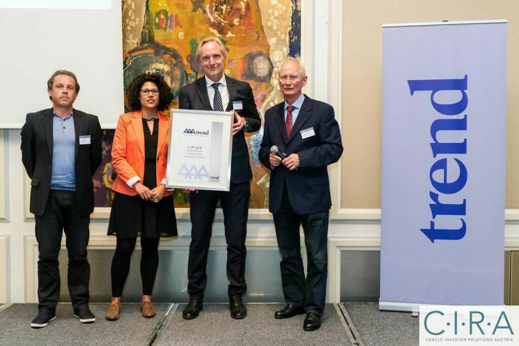 Manfred Terler, Vera Amin, Günter Riegler (FH Joanneum), Franz C. Bauer, © C.I.R.A. (21.10.2014)
