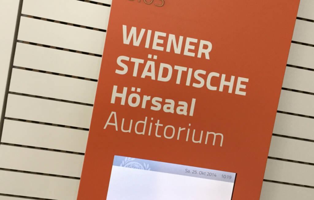 Wiener Städtische, © photaq / Drastil (25.10.2014)