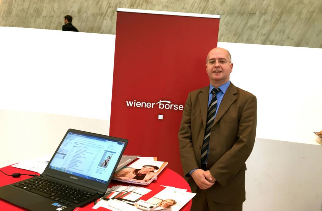 Erwin Hof, Wiener Börse, © photaq / Drastil (25.10.2014)