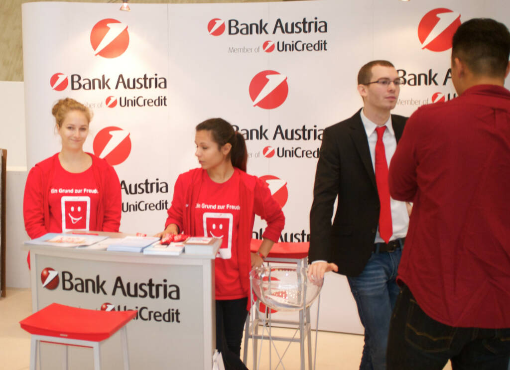 Bank Austria UniCredit, © photaq / Drastil (25.10.2014)