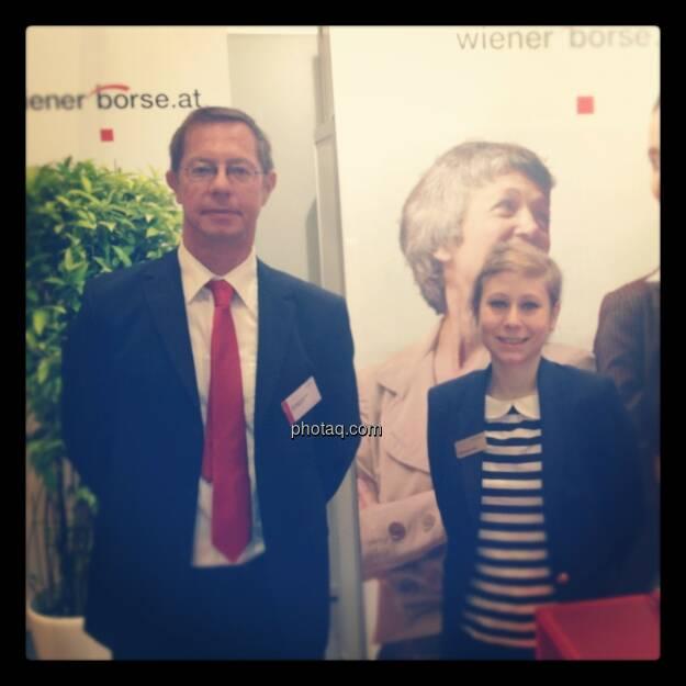 Gewinn-Messe 2012 - Wiener Börse (Wolfgang Bendel, Stephanie Frank), © Drastil (15.12.2012)