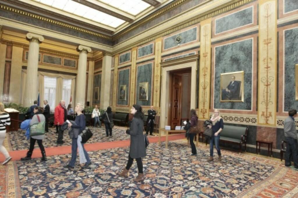 Parlament innen, © Parlamentsdirektion / Bildagentur Zolles KB / Martin Steiger (26.10.2014)