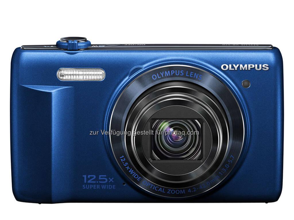 Olympus VR-370 mit 12,5-fach-Weitwinkelzoomobjektiv, HD-Videos und Dual Image Stabilisation (30.01.2013)