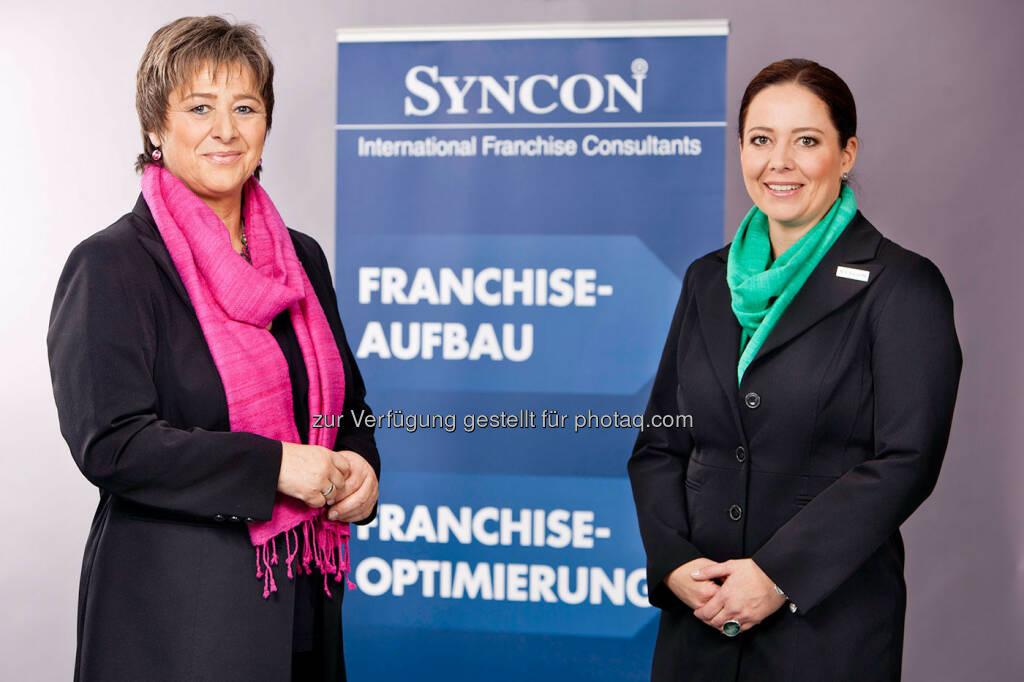 Waltraud Martius, GF Syncon, Michaela Jung, Senior Consultant Syncon (Bild: Syncon) (30.01.2013)