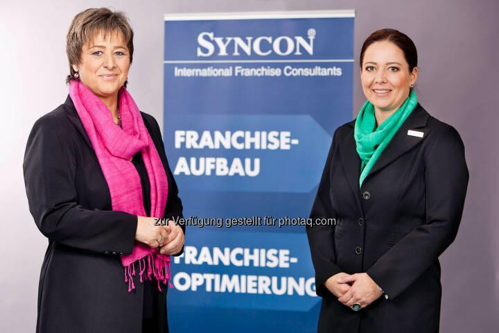 Waltraud Martius, GF Syncon, Michaela Jung, Senior Consultant Syncon (Bild: Syncon)