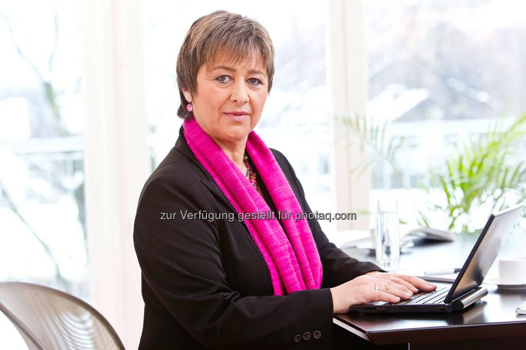 Waltraud Martius, GF Syncon, Bilanz 2012: Deutliches Umsatzplus von 15 Prozent (Foto: Syncon) (30.01.2013)