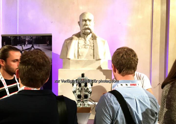 Kaiser Franz Josef  auf dem Pioneers Festival