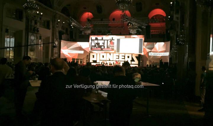 Pioneers Festival Bühne