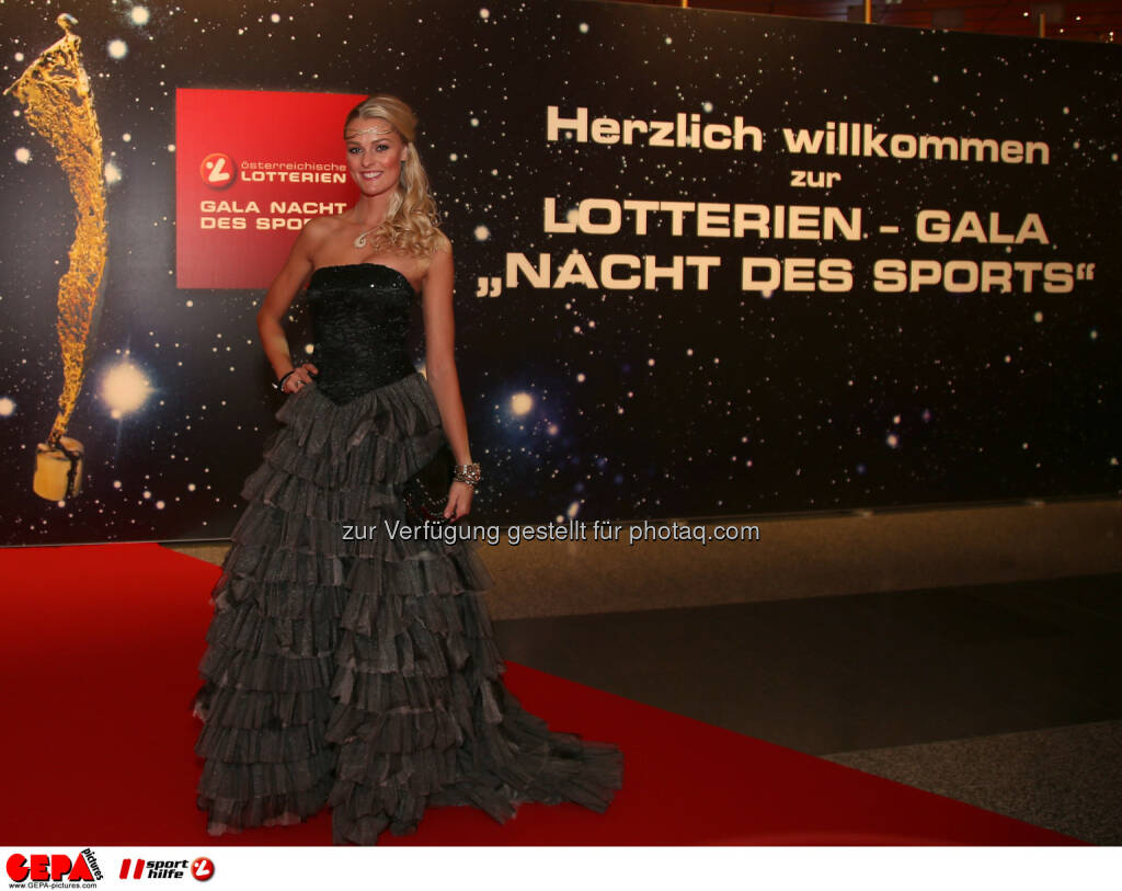 Miriam Hoeller, Lotterien Gala Nacht des Sports, Photo: Gepa pictures/ Hans Oberlaender, ©  Gepa pictures/ Michael Riedler (31.10.2014)