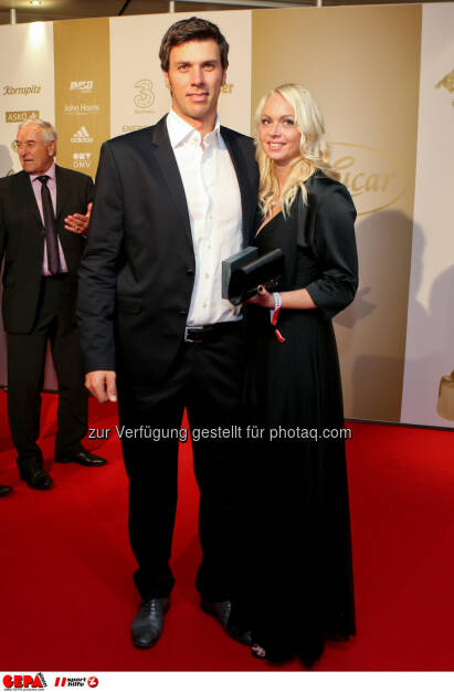 Mario Matt mit Freundin, Lotterien Gala Nacht des Sports, Photo: Gepa pictures/ Christian Walgram, ©  Gepa pictures/ Michael Riedler (31.10.2014)