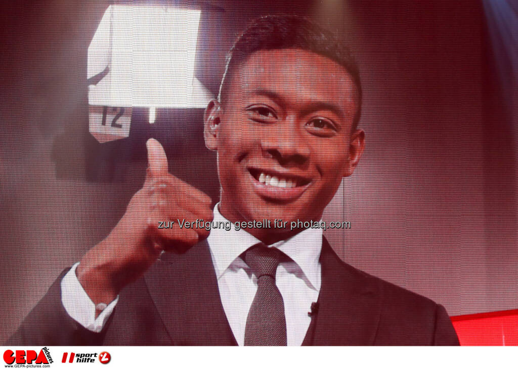 David Alaba (FC Bayern Muenchen), Sportler des Jahres, Lotterien Gala Nacht des Sports, Photo: Gepa pictures/ Christian Walgram, ©  Gepa pictures/ Michael Riedler (31.10.2014)
