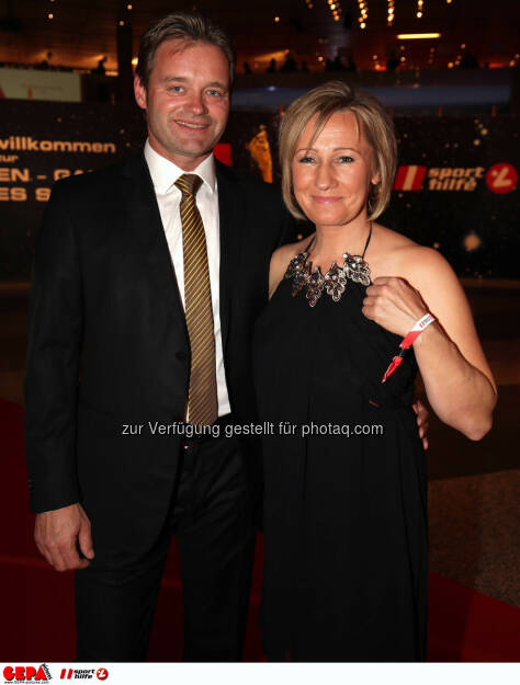 Hannes Kargl und Renate Goetschl (AUT). Photo: GEPA pictures/ Walter Luger, ©  Gepa pictures/ Michael Riedler (31.10.2014)