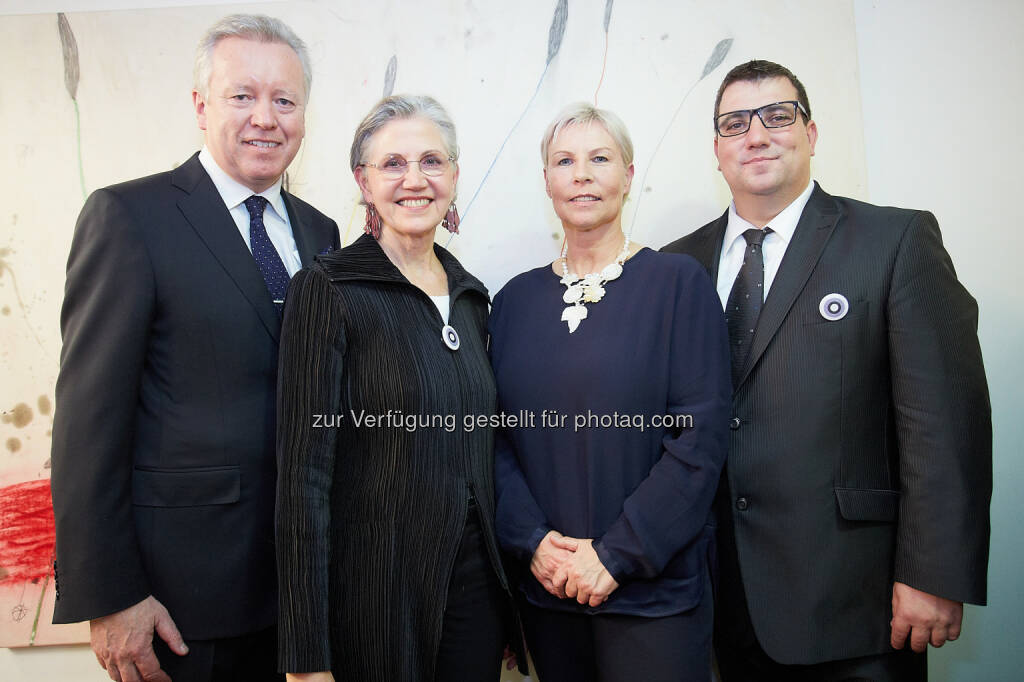 John Saunders (Fleischmann Hillard), Renate Skoff - The Skills Group feiert 30 Jahre mit rund 300 Gästen (Bild: The Skills Group/APA-Fotoservice/Preiss), © Aussendung (31.10.2014)