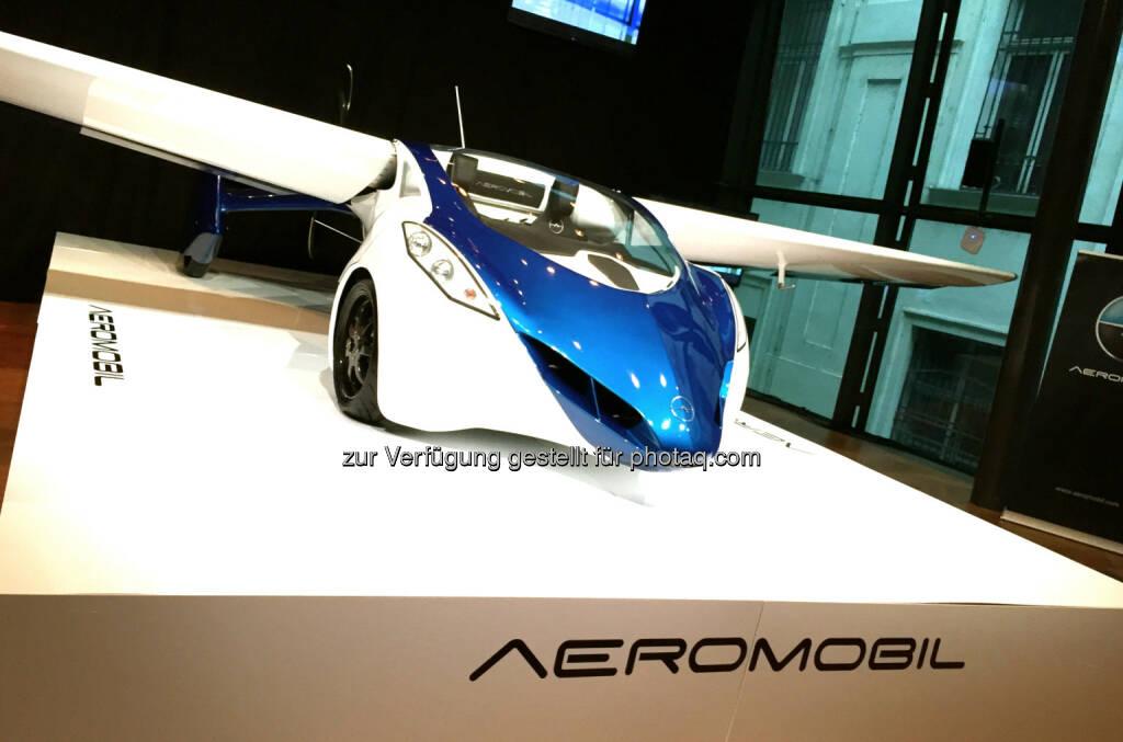 Aeromobil, Autos fliegen (02.11.2014)