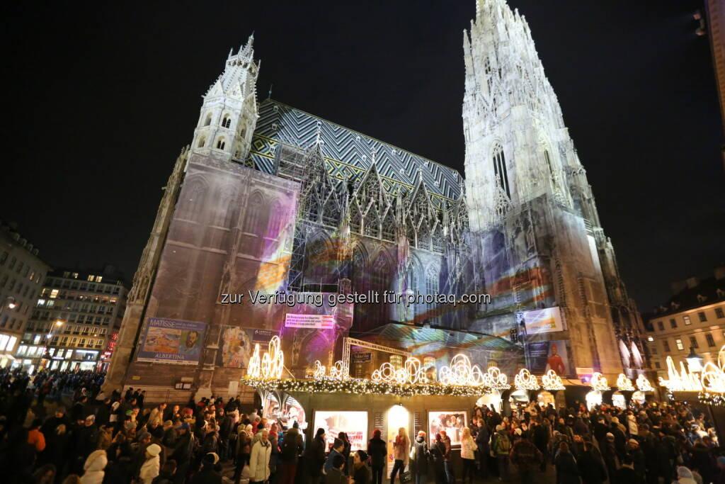 Ab 15. November wieder Weihnachtsmarkt am Stephansplatz (Bild: Harald Schlossko, Magmag Events & Promotion), © Aussender (06.11.2014)