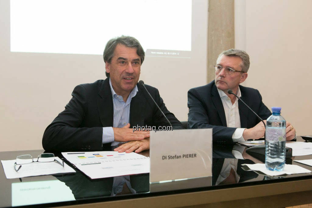 Stefan Pierer, Cross Industries AG, Friedrich Roithner, Cross Industries AG, © photaq/Martina Draper (06.11.2014)