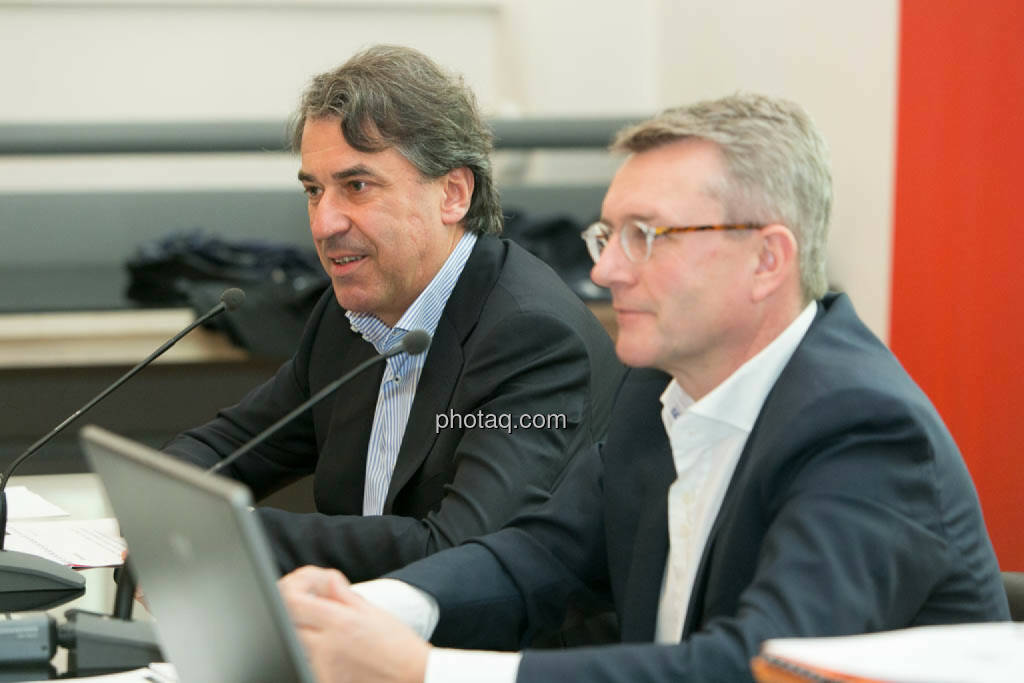 Stefan Pierer, Cross Industries AG, Friedrich Roithner, Cross Industries AG, © photaq/Martina Draper (06.11.2014)