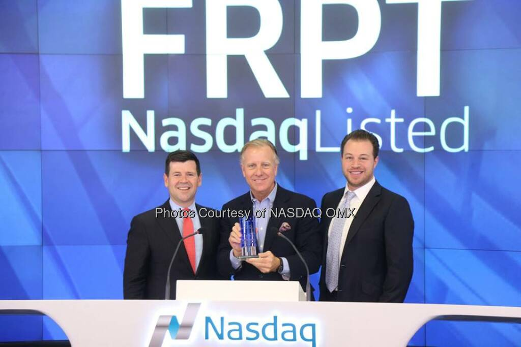 Nasdaq is proud to welcome Freshpet to the Nasdaq Family! Congratulations on your IPO today $FRPT  Source: http://facebook.com/NASDAQ (07.11.2014)
