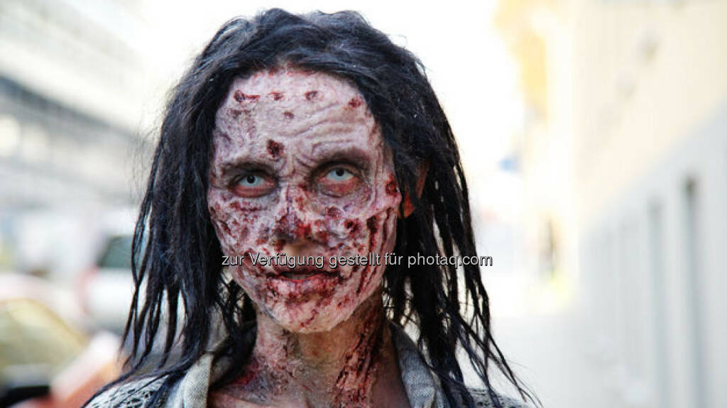 The Walking Dead in Wien - Zombie, © Katharina Schiffl (08.11.2014)