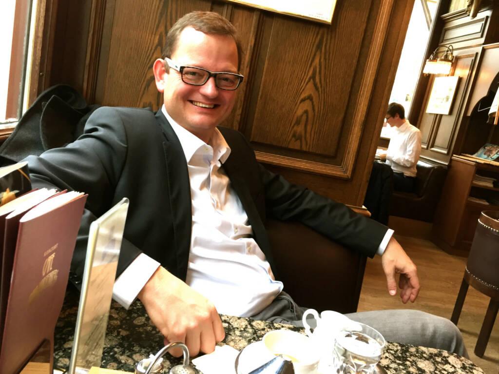 Mit Michael Dickstein (Heineken) im Cafe Schwarzenberg über Dies und Das (09.11.2014)