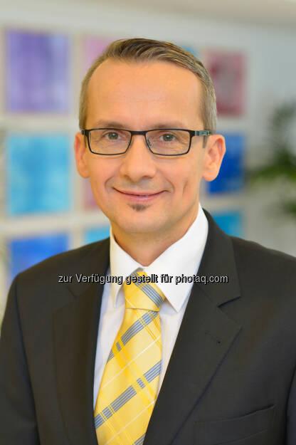 Reinhard Hagenhofer: Neuer Geschäftsführer im Klinikum Malcherhof Baden, © Aussender (10.11.2014)