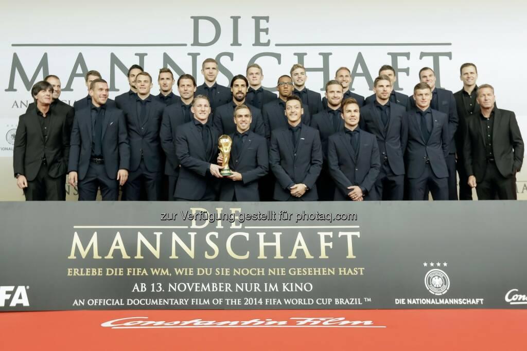 Constantin Film: Großes Wiedersehen mit den WM-Helden, obs/Constantin Film/Markus Nass, © Aussendung (11.11.2014)