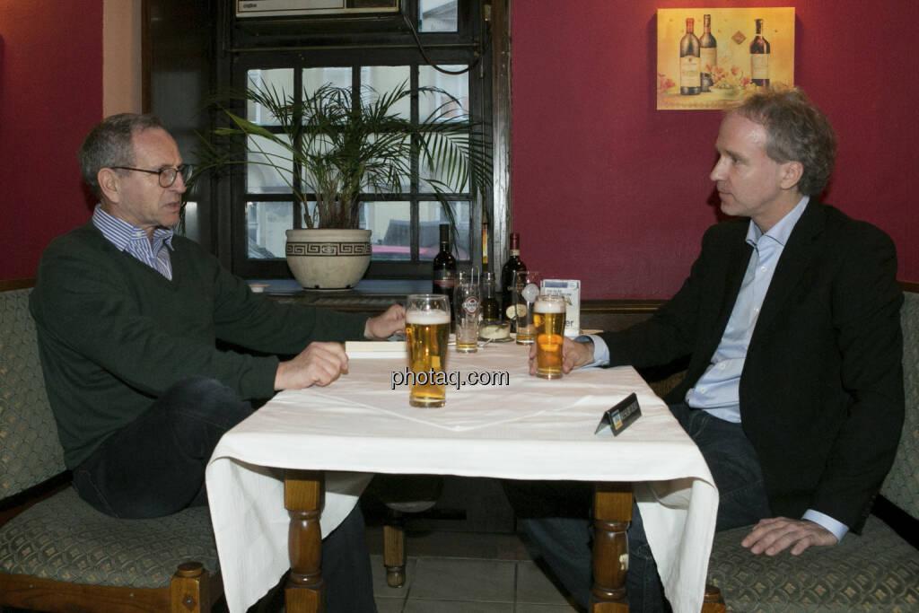 Ilan Fellmann im Talk mit Fachheft-Herausgeber Christian Drastil, © Martina Draper  (04.02.2013)