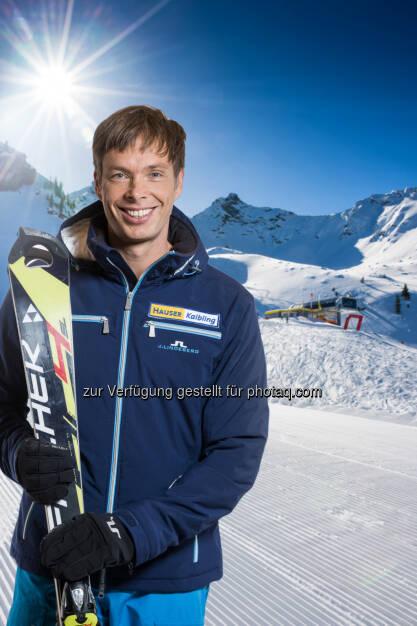 Thomas Sykora: Hauser Kaibling Seilbahn- und Liftges.m.b.H. & Co KG: Slalom-Ass und ORF-Co-Kommentator Thomas Sykora wird Gesicht des Hauser Kaibling, © Aussendung (12.11.2014)