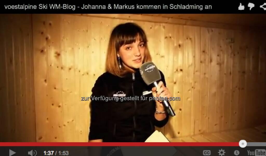Johanna Holzer findet im Appartement zur alpinen Ski WM auch eine Sauna vor: http://voestalpine-wm-blog.at/2013/02/04/das-blogger-appartement-und-die-erste-pressekonferenz/#.UQ--l47aK_Q, &copy; <a href=