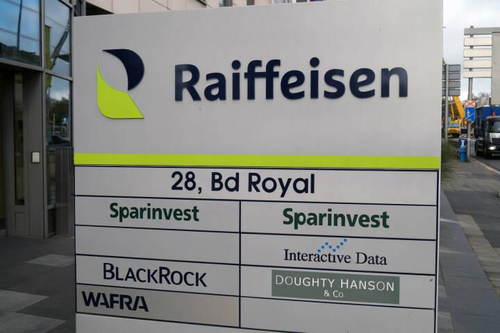 Raiffeisen Sparinvest Interactive Data BlackRock