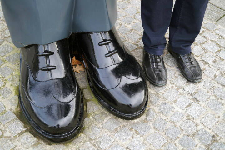 Schuhe Grössen Gross Klein