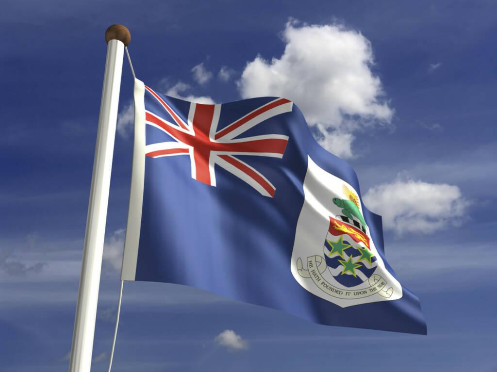 Cayman Islands Fahne, Flagge, http://www.shutterstock.com/de/pic-144084667/stock-photo-cayman-islands-flag-with-clipping-path.html, © (www.shutterstock.com) (12.11.2014)