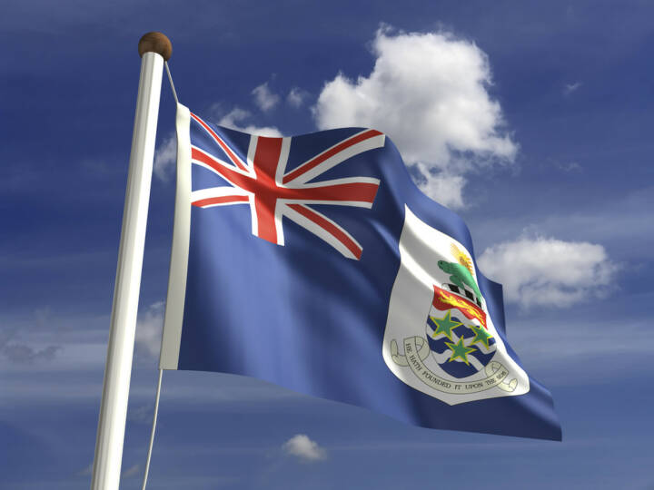 Cayman Islands Fahne, Flagge, http://www.shutterstock.com/de/pic-144084667/stock-photo-cayman-islands-flag-with-clipping-path.html