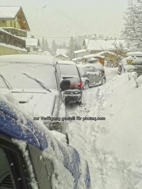 Schneechaos bei der alpinen Ski WM: Die voestalpine-Blogger stecken fest -  http://voestalpine-wm-blog.at/2013/02/04/schneechaos-in-schladming/#.URDFMI7aK_Q, &copy; <a href=