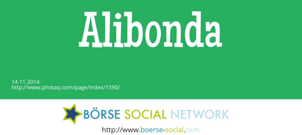 Alibaba bringt Dollar-Bond (14.11.2014)