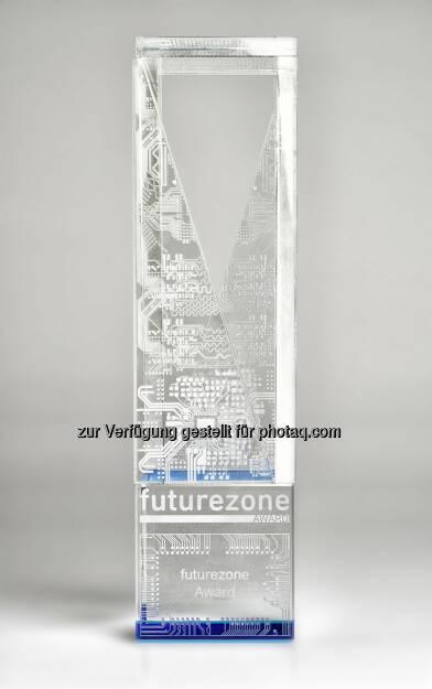 futurezone award. Die Trophäe by AT&S (15.11.2014)