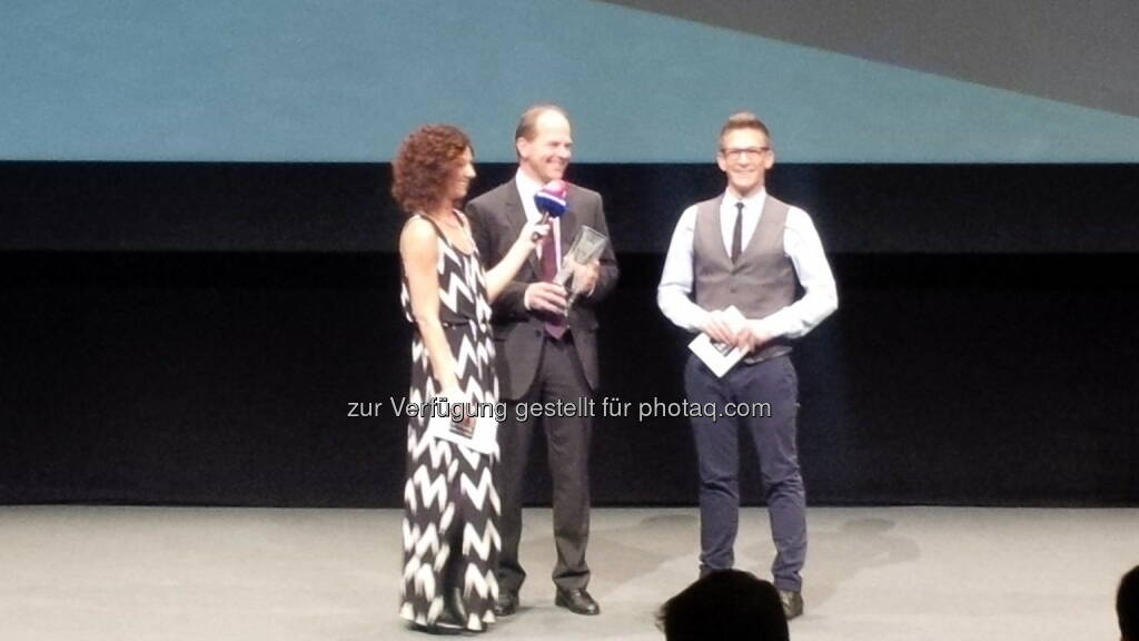 futurezone Awards mit AT&S: CEO Andreas Gerstenmayer (15.11.2014)