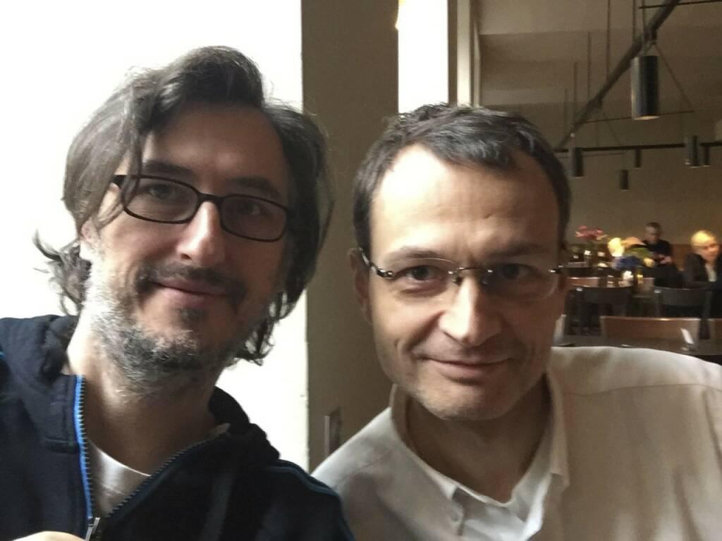 Josef Chladek, Thomas Keul (Volltext, Recherche) - im Cafe Ansari über Medien, Paywalls, Bücher, Fotobücher und Redaktionssysteme... (17.11.2014)