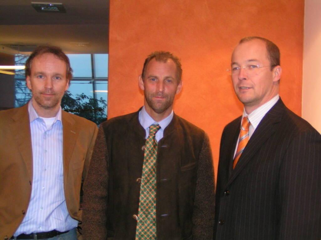 Christian Drastil, Thomas Muster, Karl Mauracher (17.11.2014)